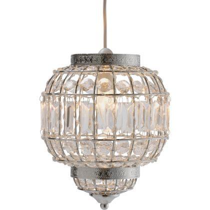 Heart of house kasbah acrylic pendant light