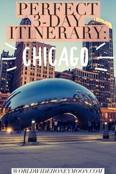 A visit to the windy city isn't complete without this guide. Check out where to stay in Chicago, best Chicago restaurants, things to do, and more! Check out this Chicago itinerary.  #chicago #choosechicago #windycity #travelchicago #windycitytravels #chitown #USA