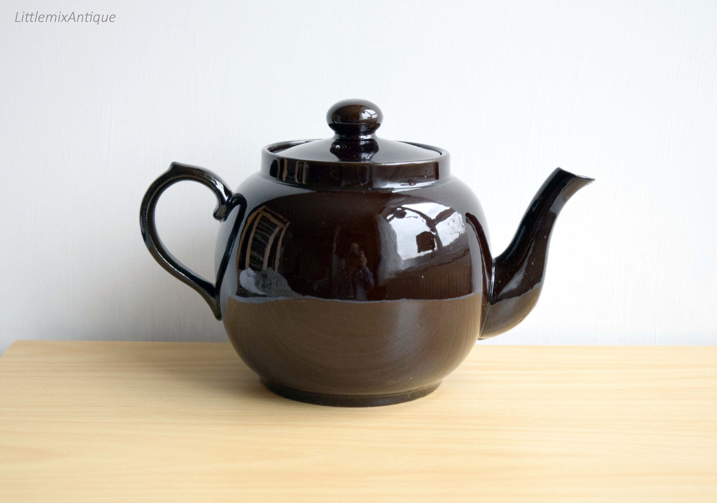 retro price kensington made in england classic brown betty style