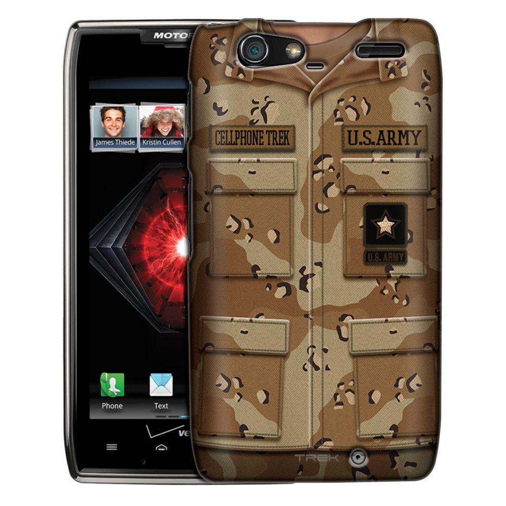 Motorola Droid Razr Maxx Army Desert Camouflage Uniform Slim Case ...