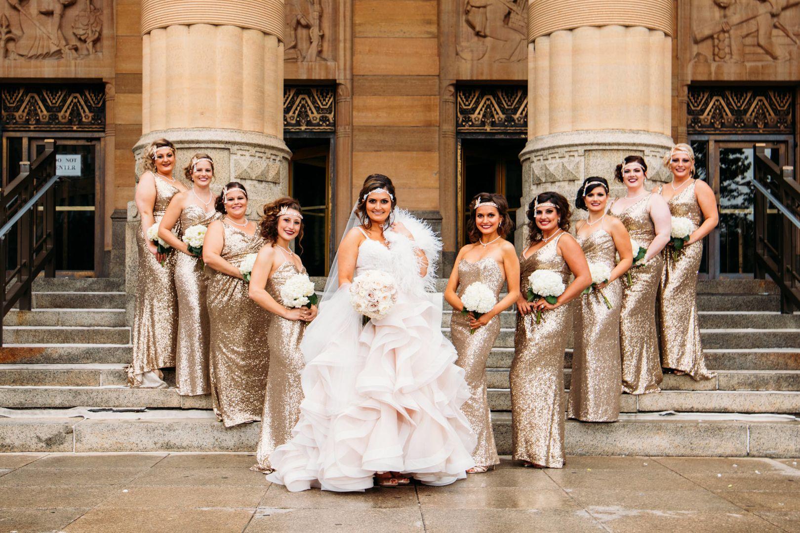 Great Gatsby Style Wedding Hollywood Glam Wedding Art Deco Wedding Dress Deco Wedding Dress