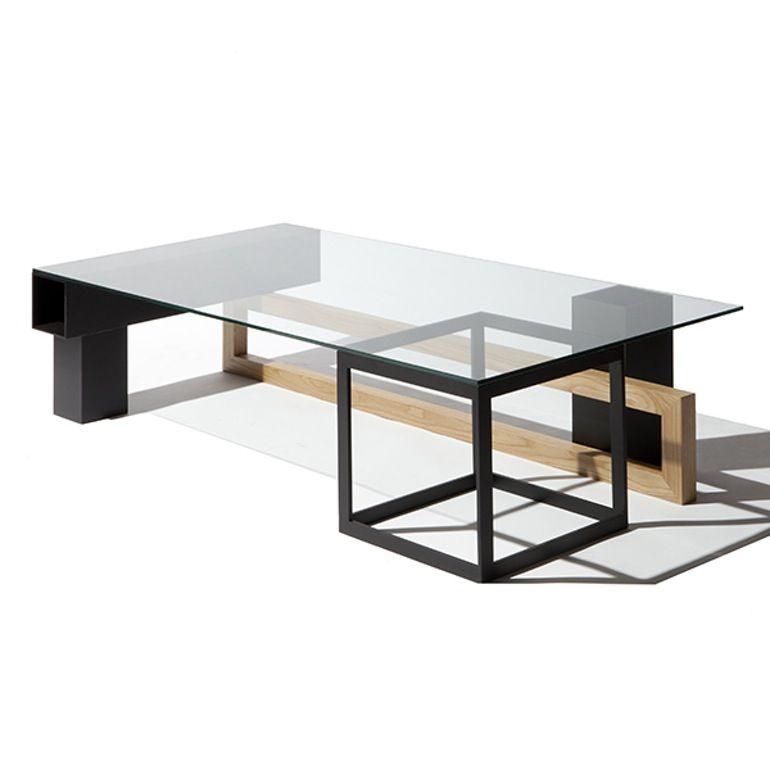 Gliese Coffee Table Contemporary Mid Century Modern Coffee