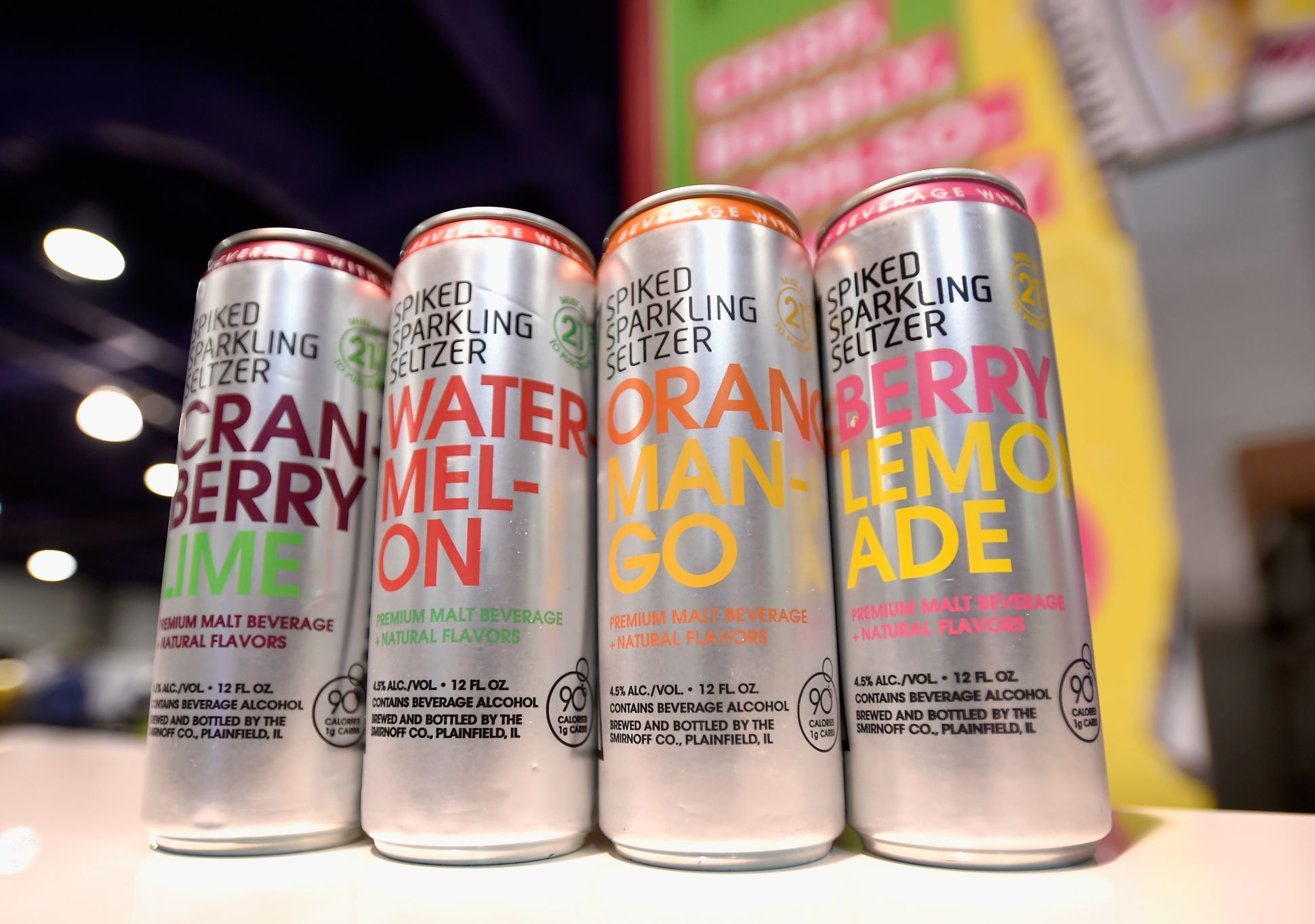 Smirnoff Spiked Sparkling Seltzer Is One Of The Most Popular Brands In This New Drinking Trend Lighter And Less Alcohol Spiked Seltzer Flavored Drinks Seltzer