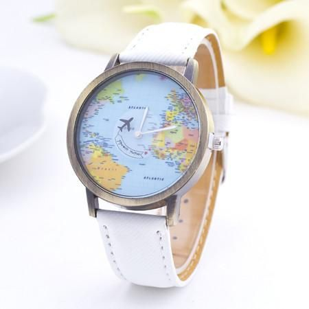 BAJEETA Vintage Leather Quartz Women Watch Fashion Casual Men Wrist