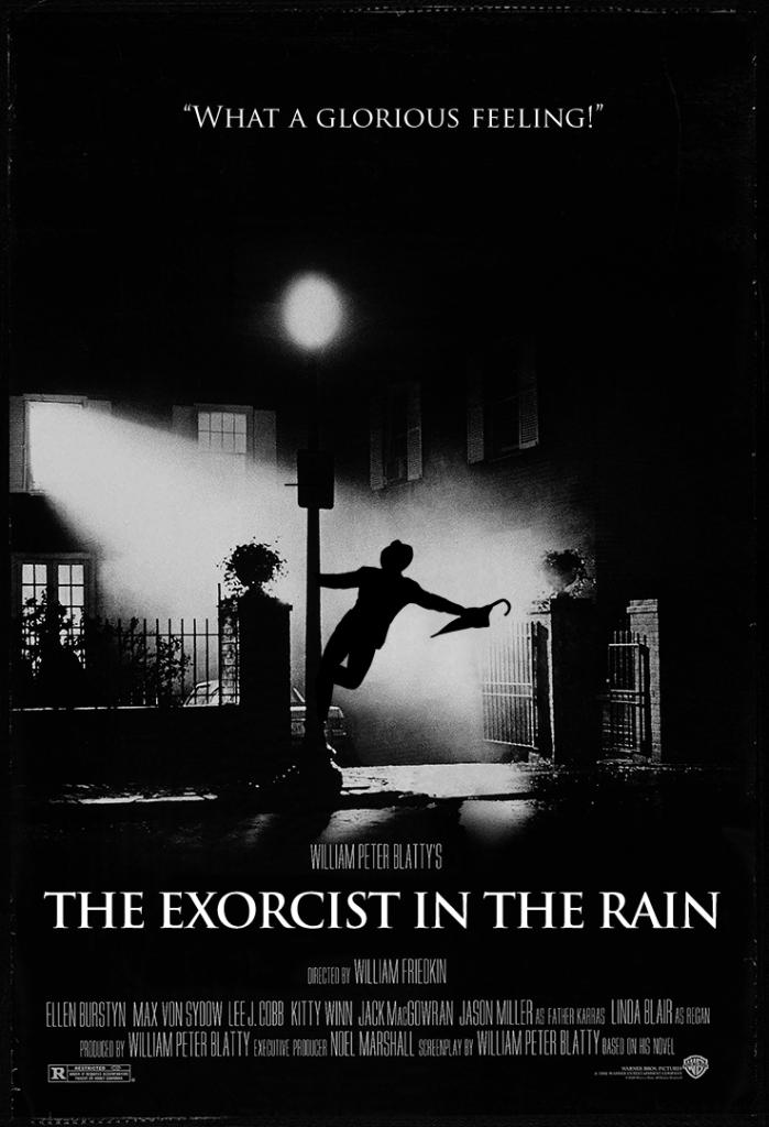 雨に The Exorcist Movie Posters Singing Exercises