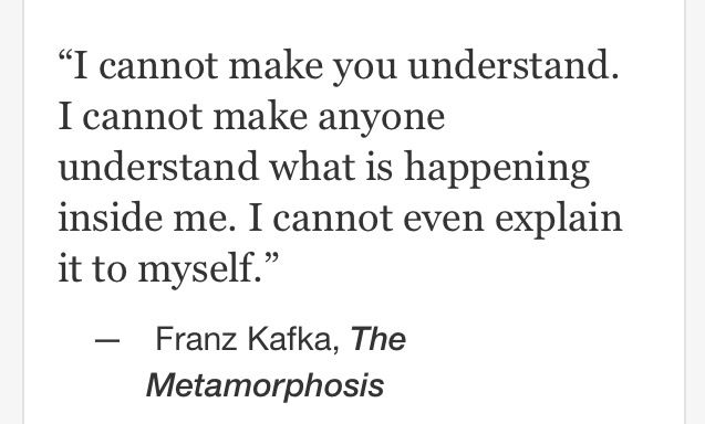 a literary analysis of metamorphosis by franz kafka Struggling with franz kafka's the metamorphosis check out our thorough summary and analysis of this literary masterpiece define metamorphosis: change of physical.