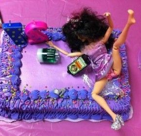 Funny Birthday Cakes For Girls Places to Visit Pinterest Funny