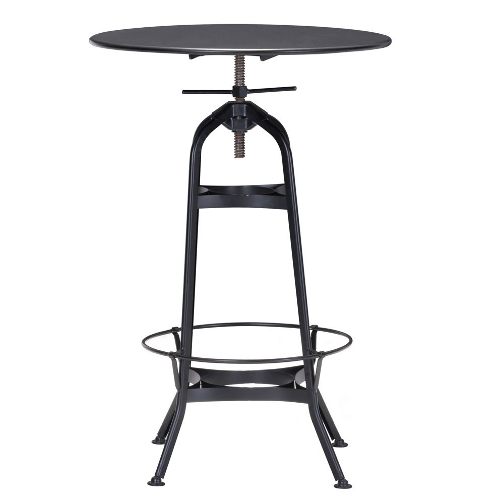 Lovely Black High top Bar Table