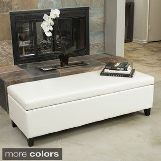 Shop for Gable Storage Ottoman by Christopher Knight Home Get free