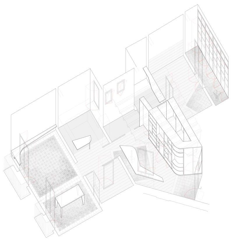 Bonell Doriga Rossello Renovations Architecture Model Architecture Presentation