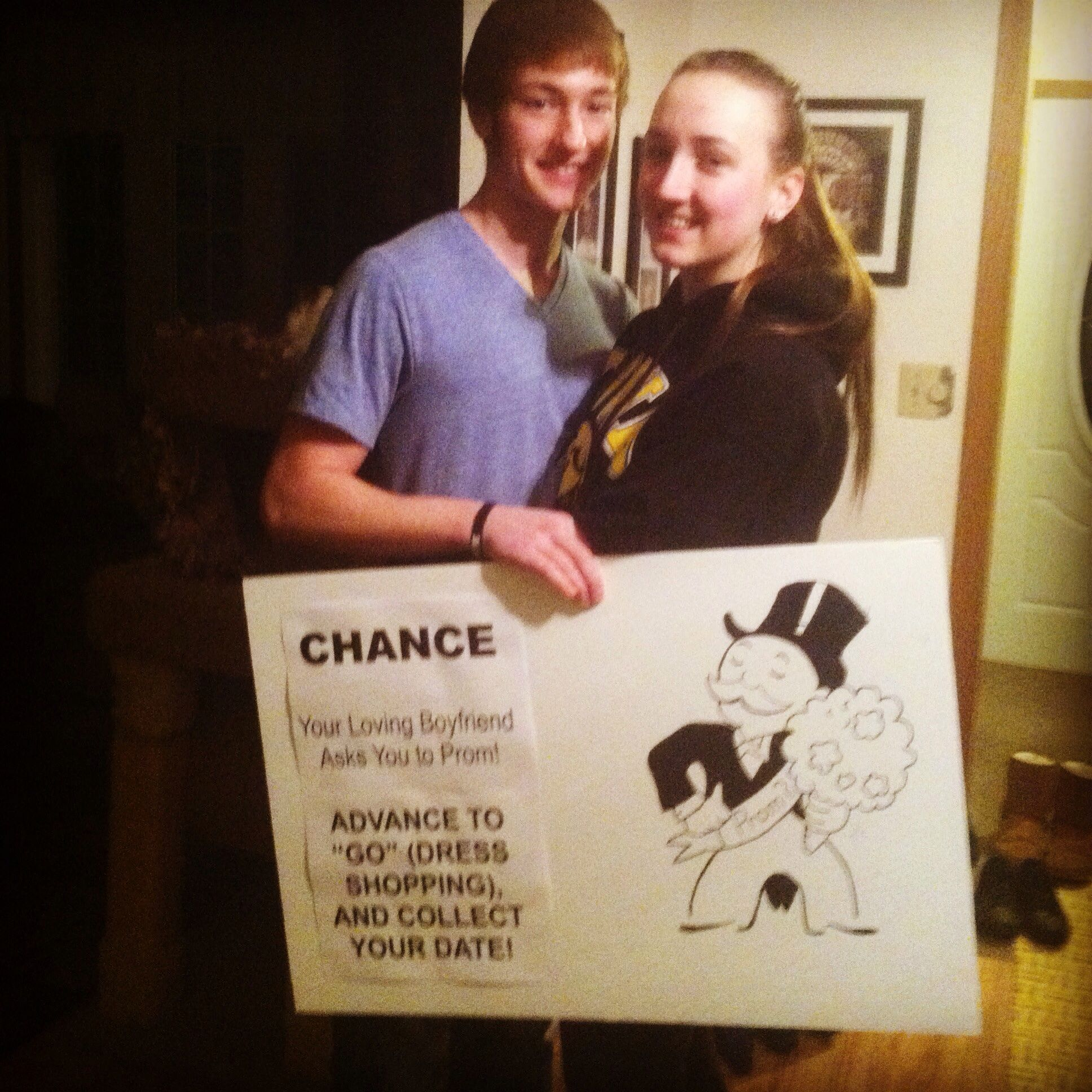 11 super cute promposals pinterest promposal prom and monopoly