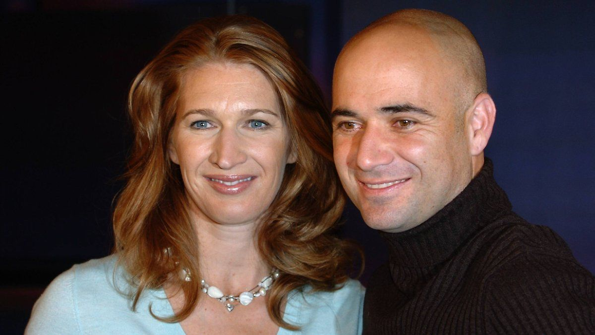 Andre Agassi Schwarmt Von Steffi Graf Steffi Graf Andre Agassi Leute