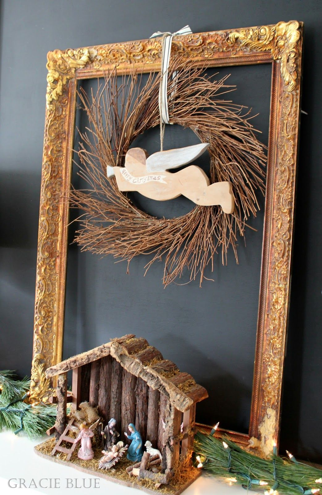 Gracie Blue : Christmas Vignette {Keeping it Simple}