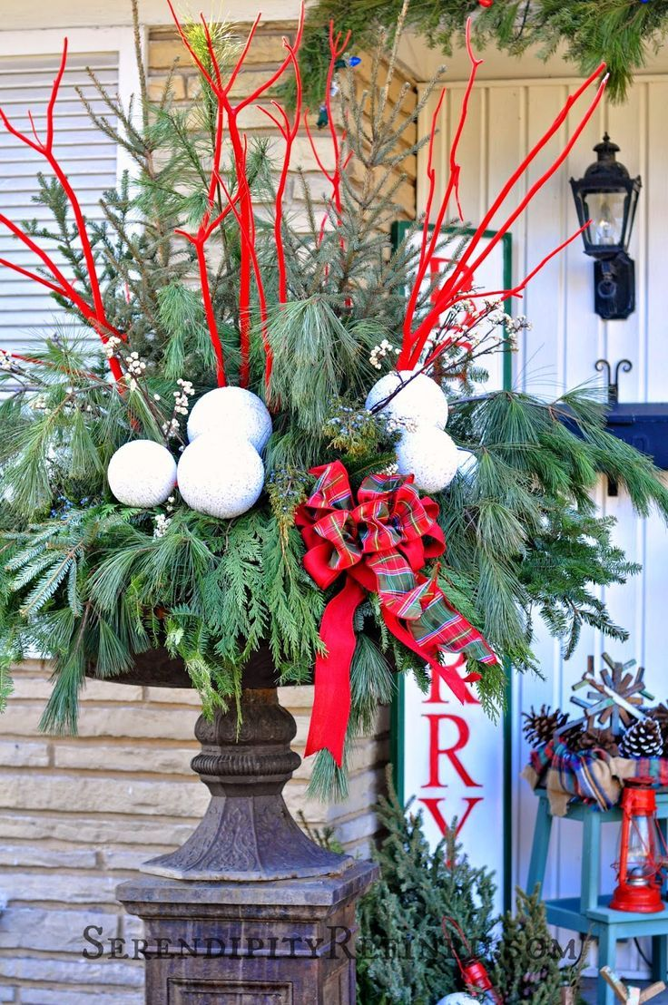 50 Stunning Christmas Porch Ideas. Christmas GardenChristmas HomeChristmas  Porch IdeasChristmas DecorationsHoliday ...