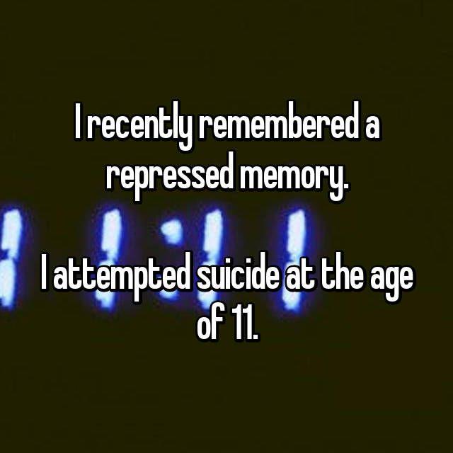 15 People Their Most Harrowing Repressed Memories