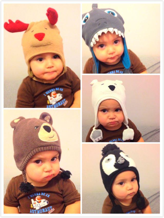 ba470a56b Adorable baby hats !
