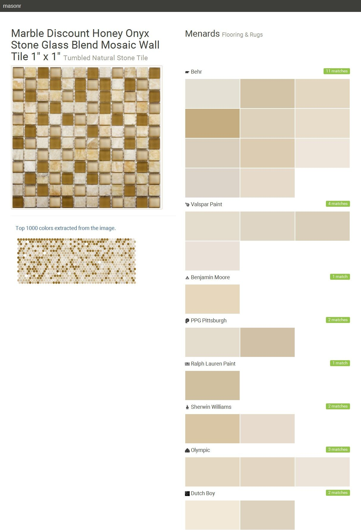 Marble Discount Honey Onyx Stone Glass Blend Mosaic Wall Tile X - Discount tile pittsburgh