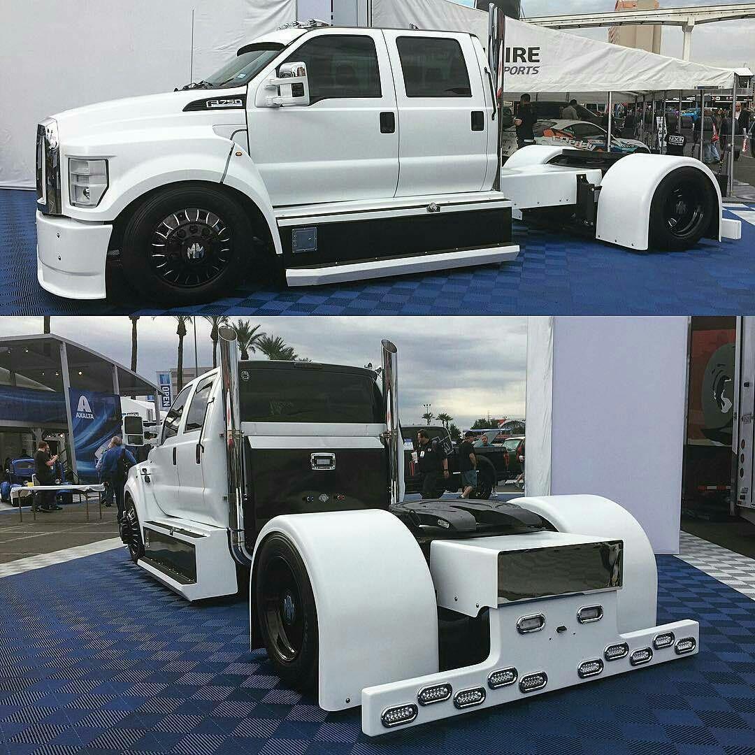 Ford F 650 Custom With Images Custom Trucks Trucks
