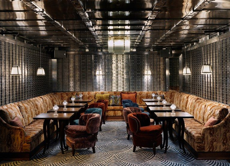 The Ned London United Kingdom Hotel Review With Images Luxury Restaurant Restaurant Interior Design Banks Vault