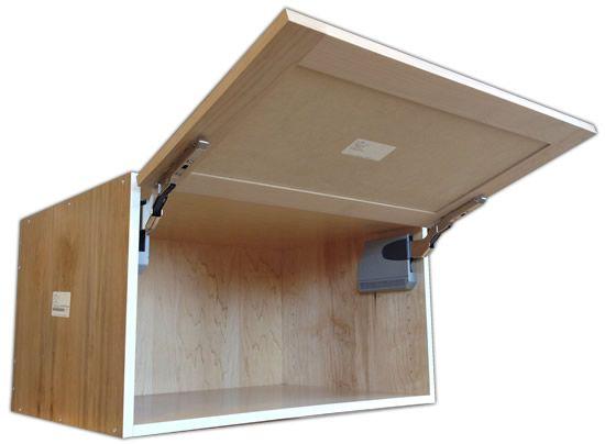 Aventos Hk Flip Up Door Wall Cabinet Diy Cabinet Doors Cabinet