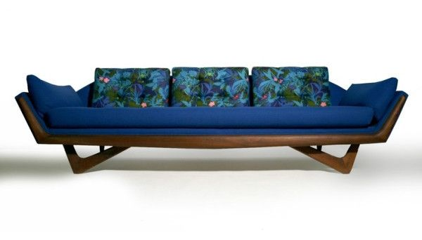 Modern Adrian Pearsall Sofa 2404S for Craft Associates Inc from