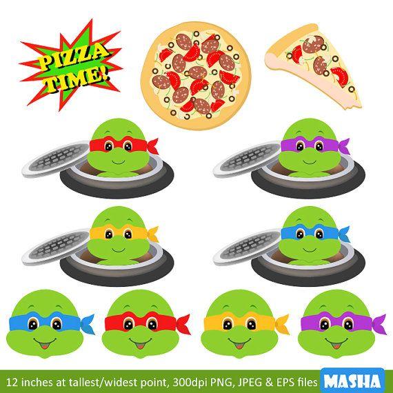 Ninja Turtle Clip Art: \