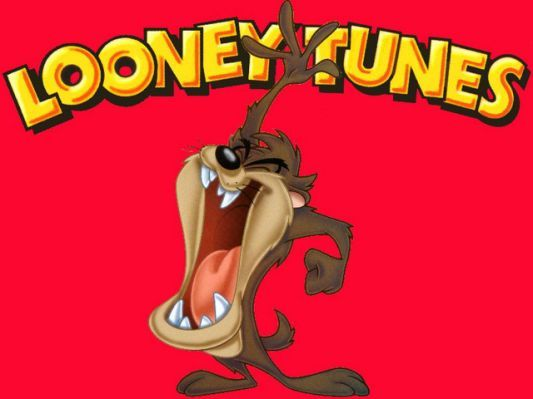 LOONEY TUNES ~ TASMANIAN DEVIL CIRCLE 24x36 CARTOON POSTER Taz NEW//ROLLED!