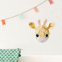 Giraf muursticker bloesem