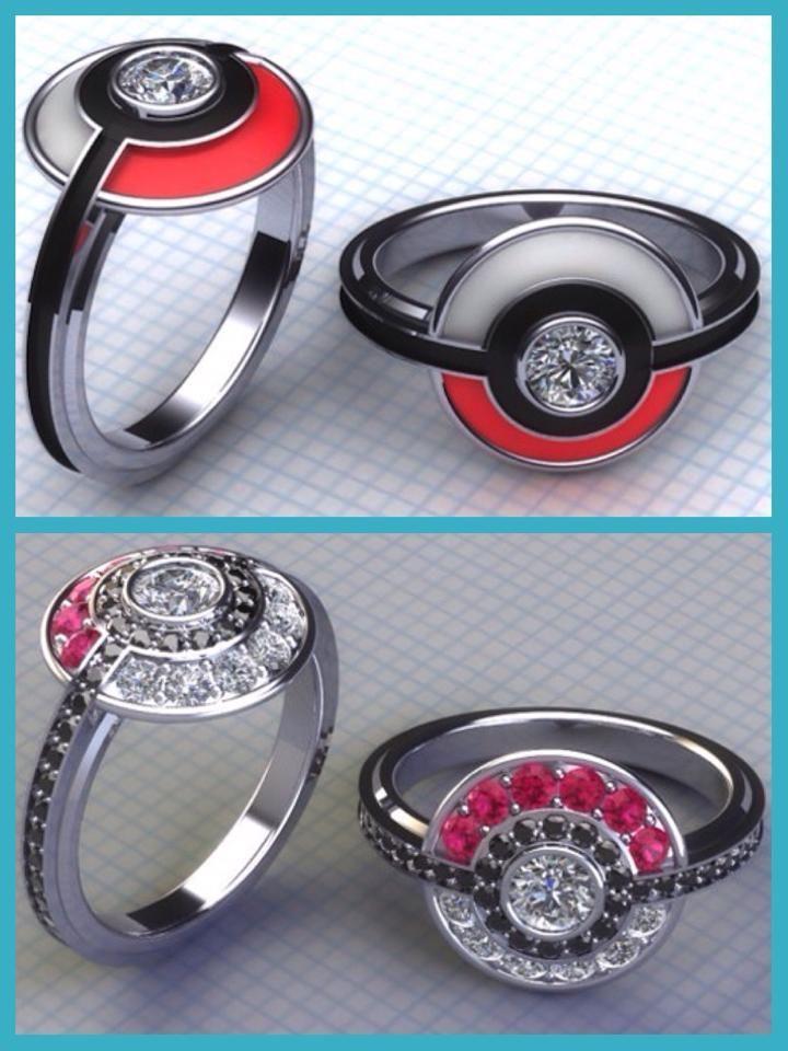 Pokemon Engagement Rings So Cute