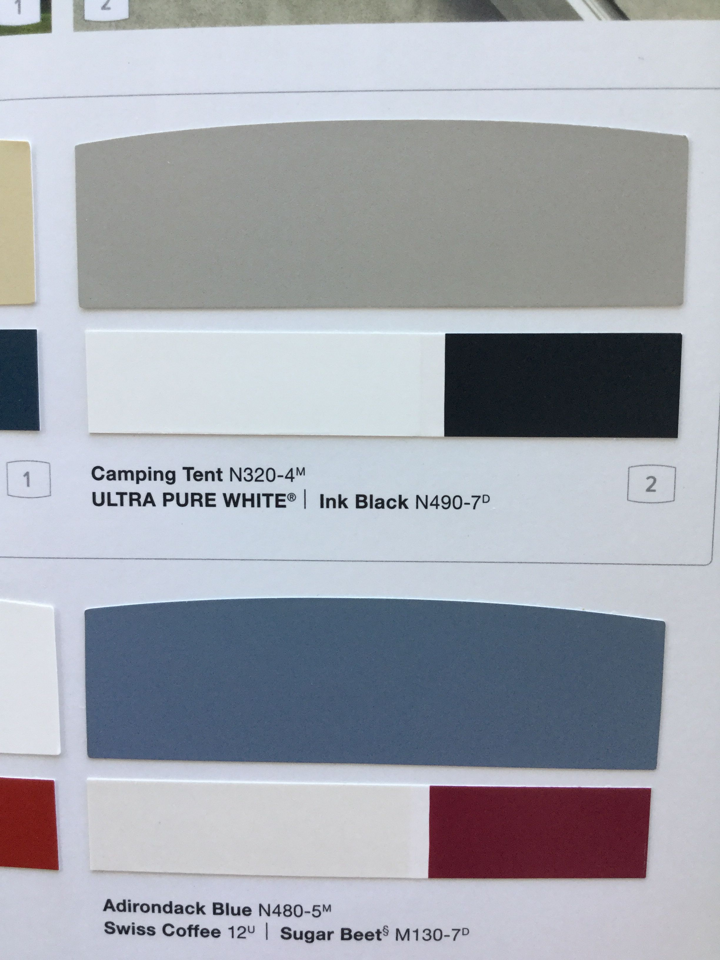 Exterior House Colors Behr Paint Camping Tent Ink Black