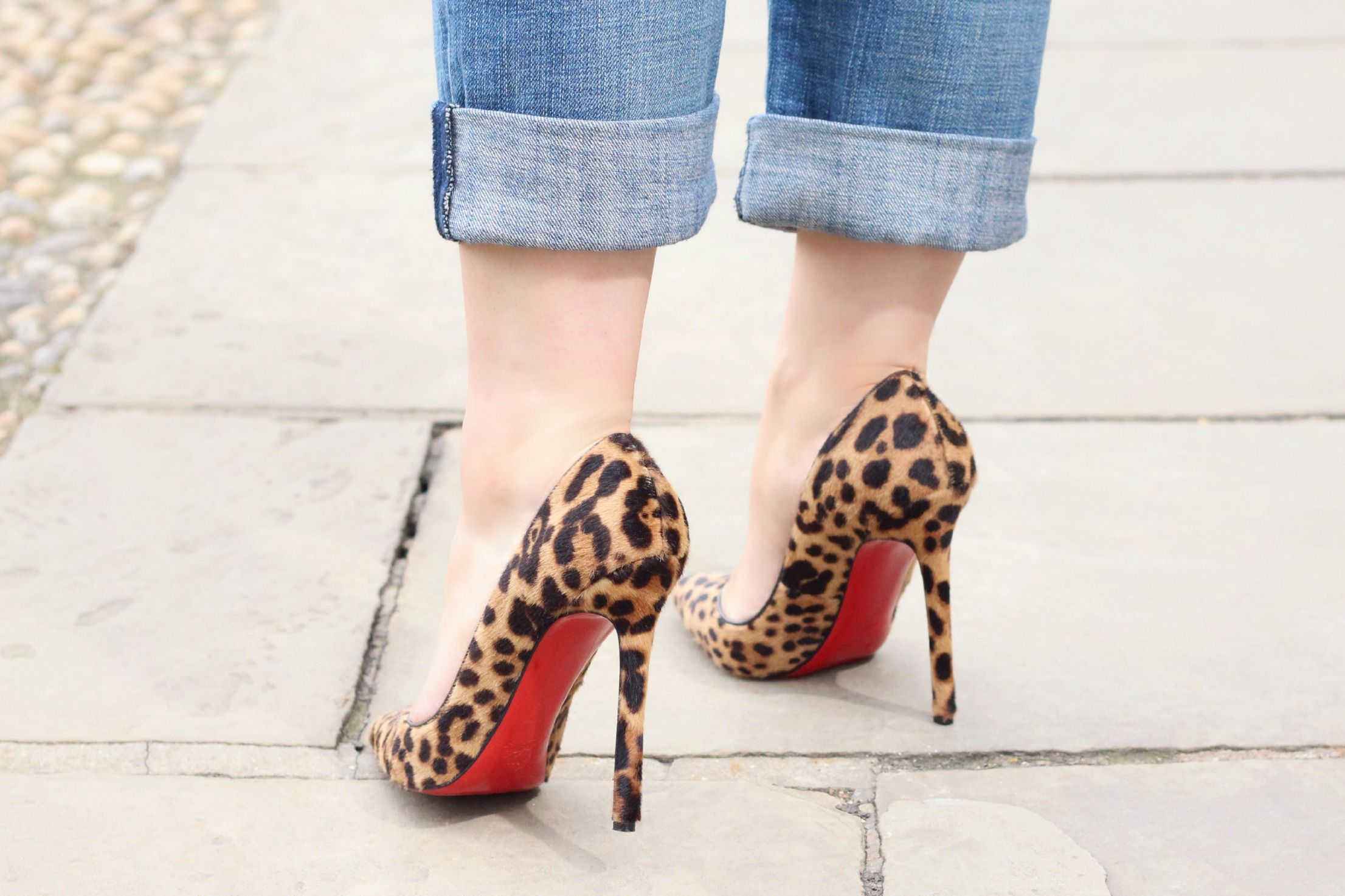 save off f4912 e426f A Girl, A Style _ Leopard Christian Louboutin Pigalle ...