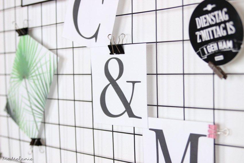 Diy wire memoboard gitter pinnwand diy ideas pinterest - Pinnwand gitter ...