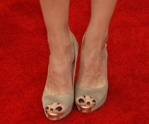 Michelle feuchte Füße Bilder