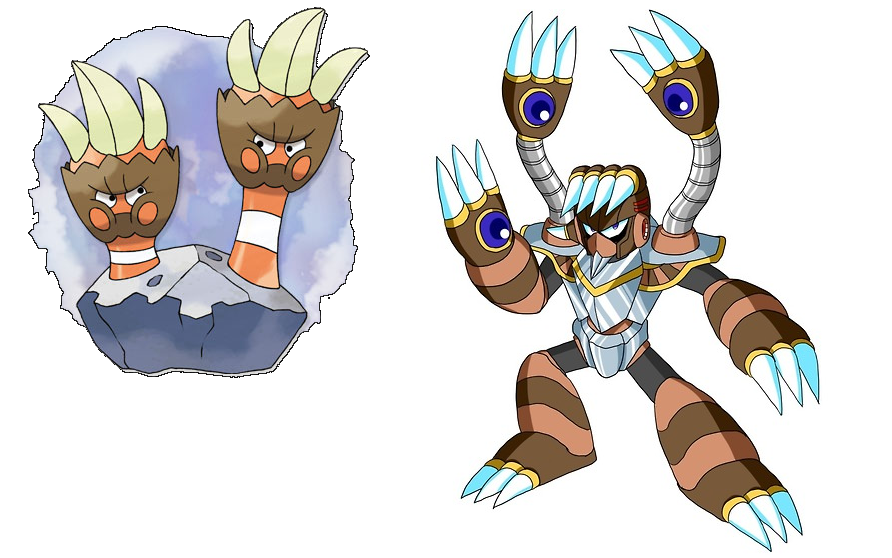 Binacle #688 - Barbaracle #689 evolution | Pokemon, Character, Fictional  characters