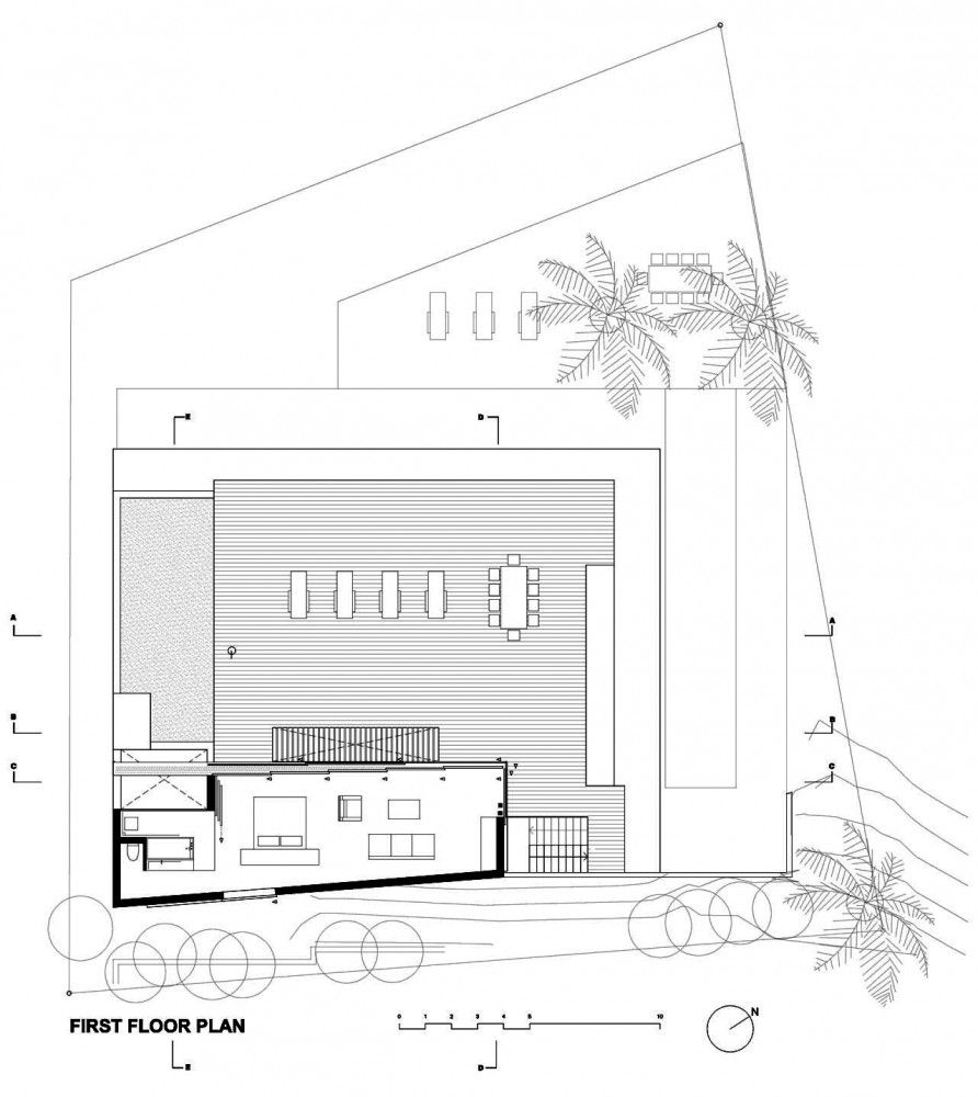 house in camps bay luis mira architects architects house and