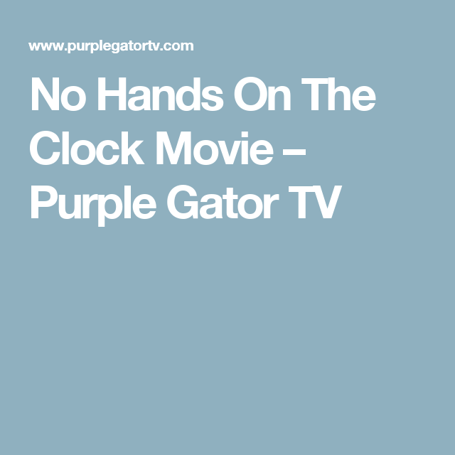 Watch No Hands on the Clock Full-Movie Streaming