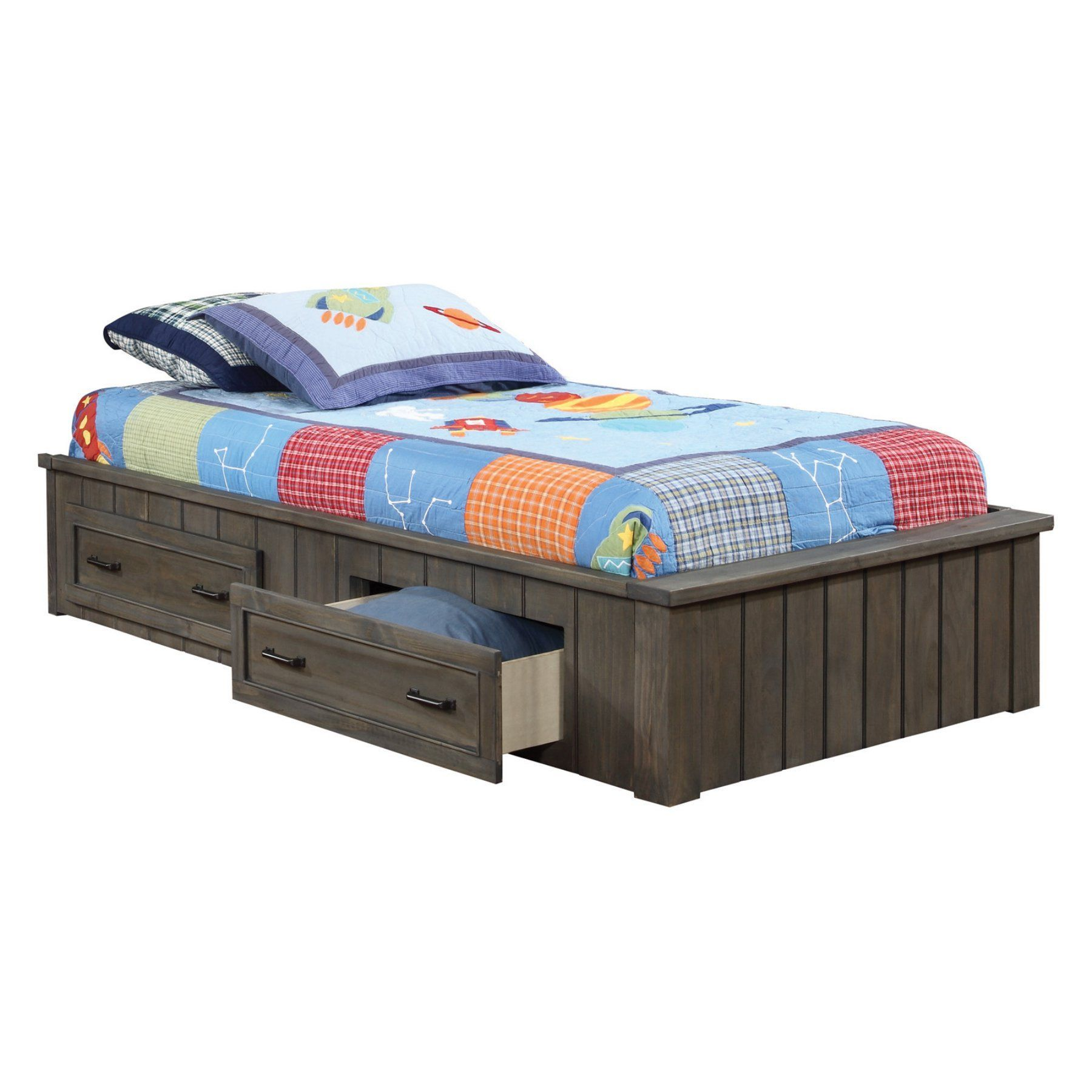 coaster furniture napoleon platform bed with optional headboard