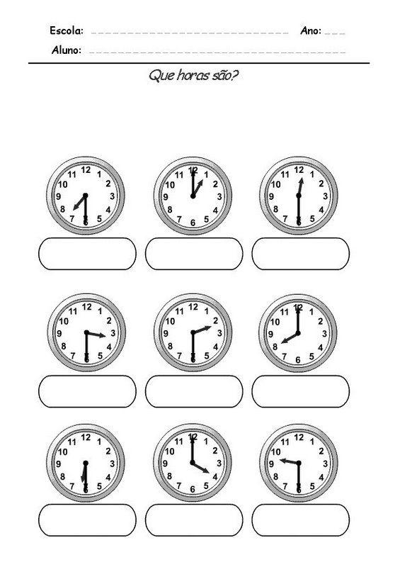 reloj para colorear digital para dibujo reloj sin agujas