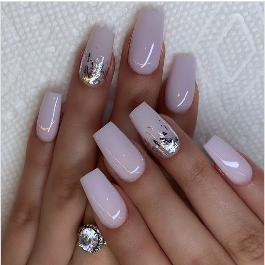 """Photo of #1 Nails Page on Instagram: """"💜🤍 So beautiful 😍 Follow us for more 👉👉 @thosefancynails . . . . . .…"""""""
