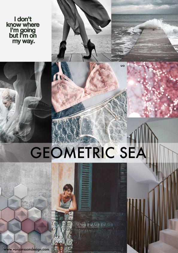 9b42f403d SS18 lingerie trends bring  Geometric Sea  and  Tropicana Garden .  Geometric Sea
