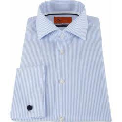 Suitable Hemd Doppel Cuff Blau #skincareroutine