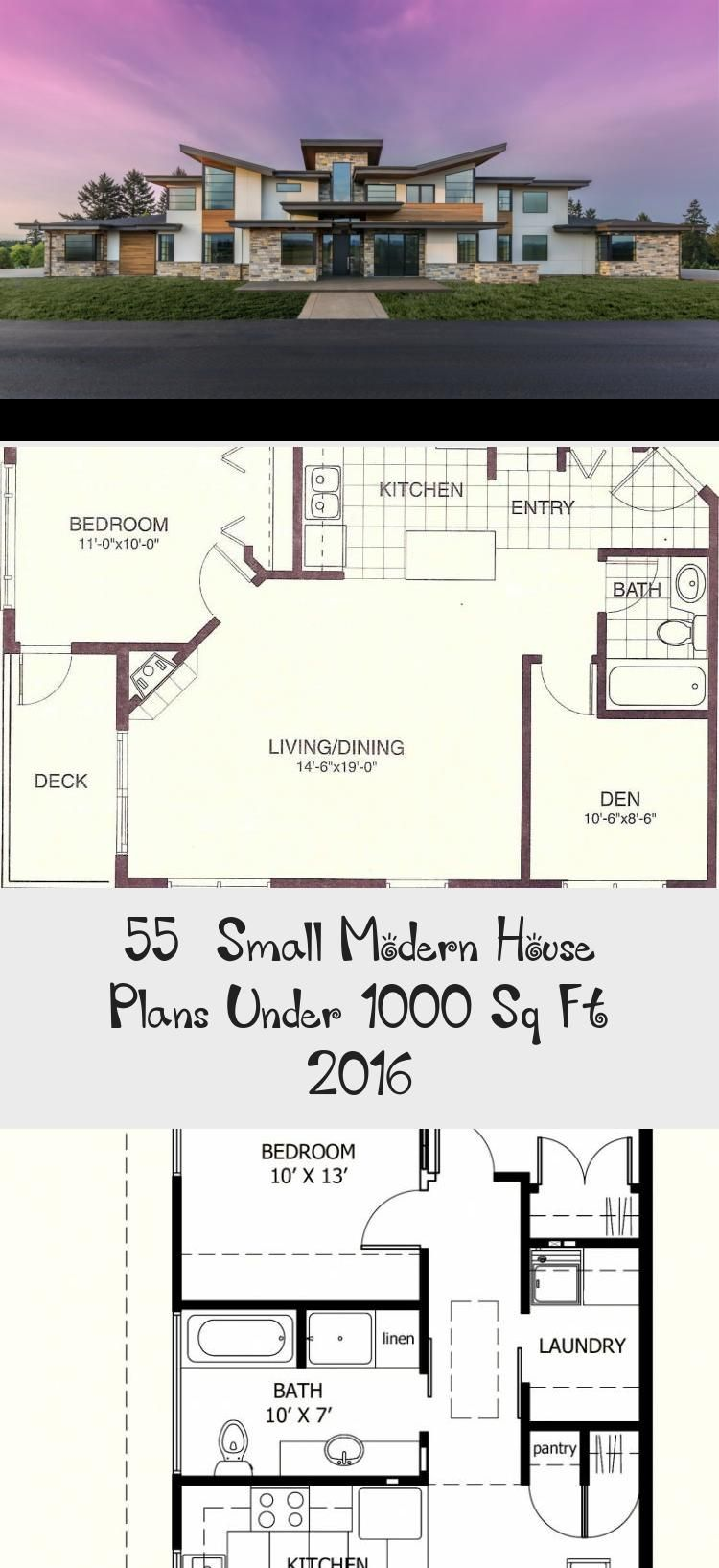50 Small Modern House Plans Under 1000 Sq Ft 2019 Modernhousesketchdesign Modernhousesketchart Small Modern House Plans Modern House Plans Small Modern Home