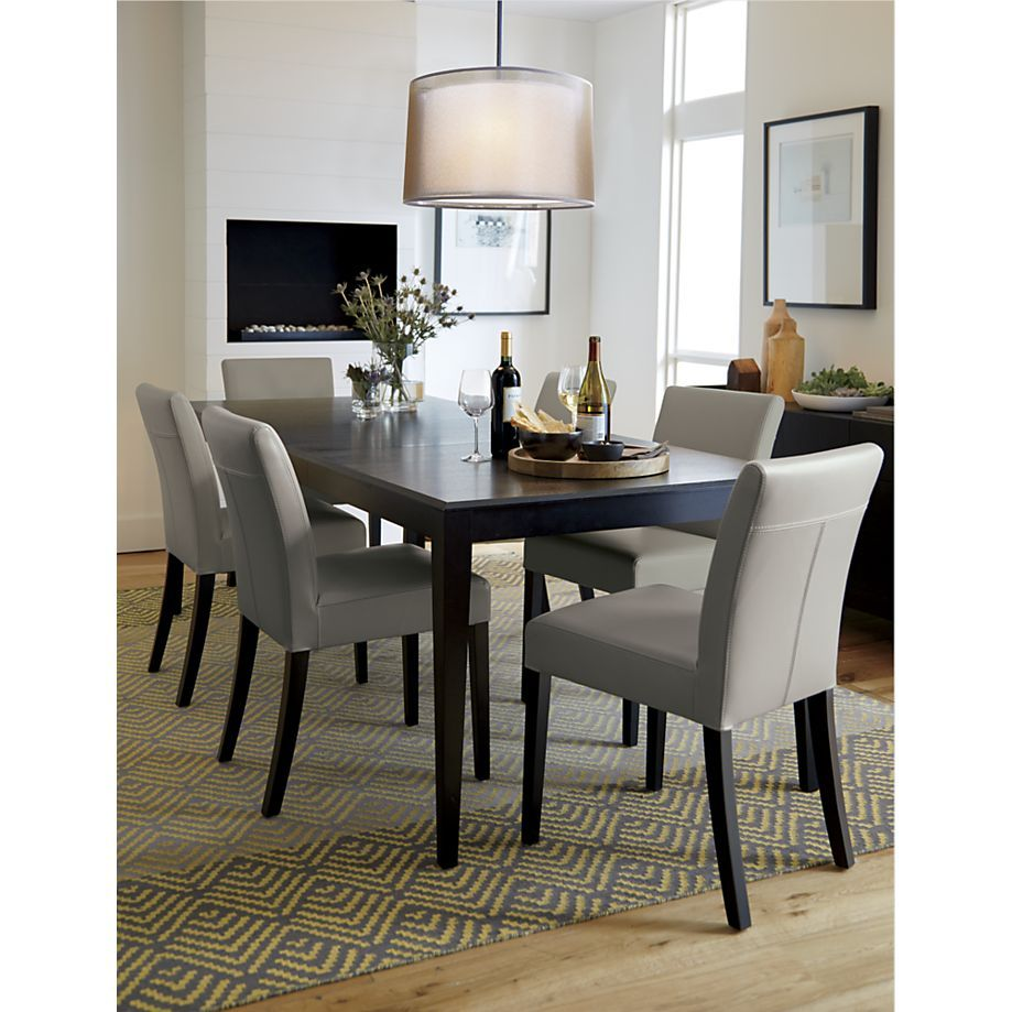 Facet Extension Dining Table Crate and Barrel