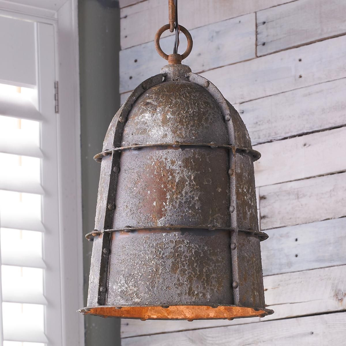 Let S Stay Industrial Lighting Fixtures: Industrial Fusion Pendant - Small