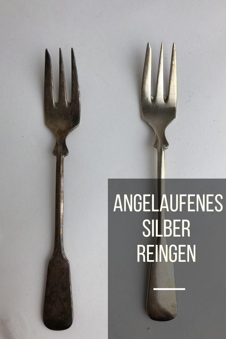 Edelstahl Angelaufen