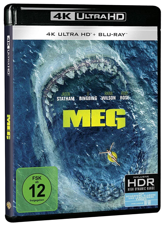 Meg 4k Ultra Hd Uhd Blu Ray Disc Movies