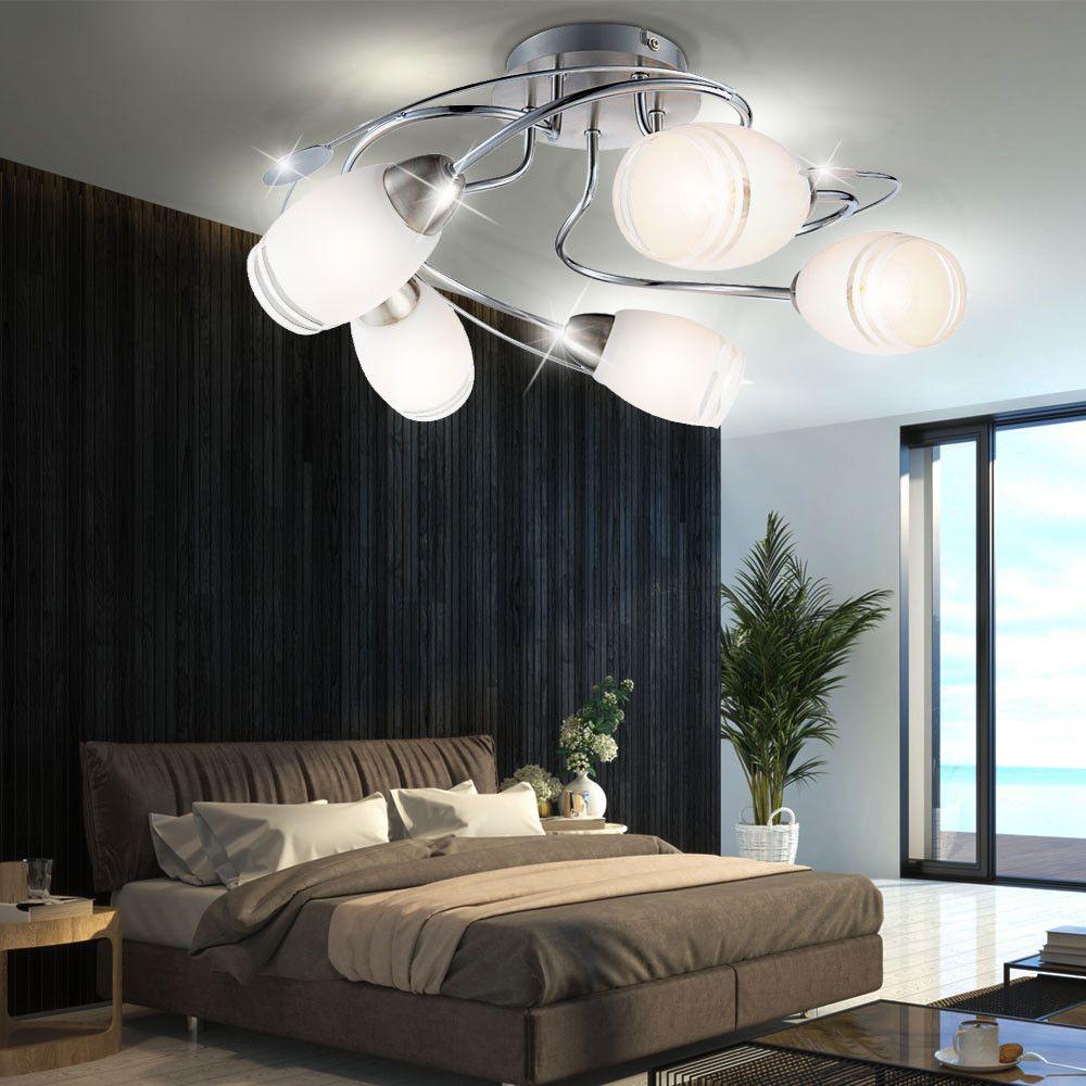 P 5ab9ab0225af7 Cea41d8f5 5 Decken Leuchte Glas Satiniert Schlafzimmer Lampe Fernbe Nung Im Schlafzimmer Lampe Schlafzimmer Lampe Modern Modernes Schlafzimmer
