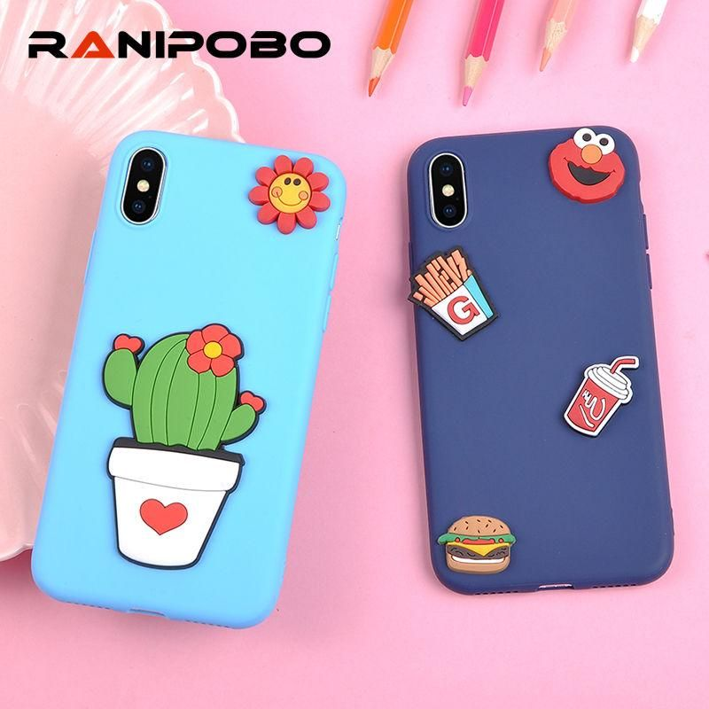 huge selection of 0c0b7 7ed0f Lovely Candy Color DIY Cute 3D fruit food Phone Case | CUTE PHONE ...