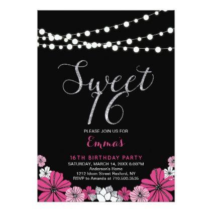 unique sweet sixteen 16th birthday