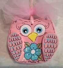 PArty Kids Bedroom Decoration OWL  Flower Handmade Ornament Artwork Birds Girls